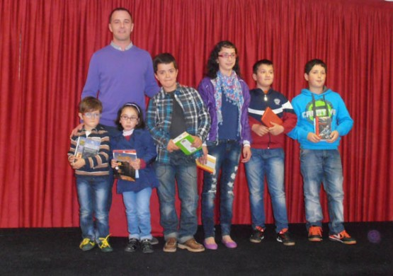 Gañadores do V Concurso de marcapáxinas