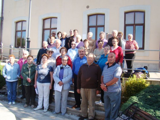 Participantes no programa de balneoterapia