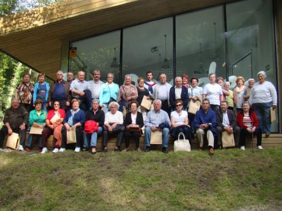 Participantes no taller de memoria