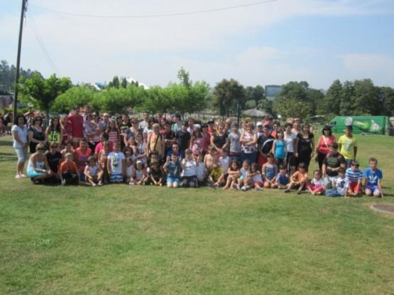 Grupo de visitantes de Dodro