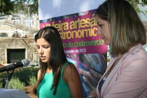 Lara Méndez e Pilar Ferreiro