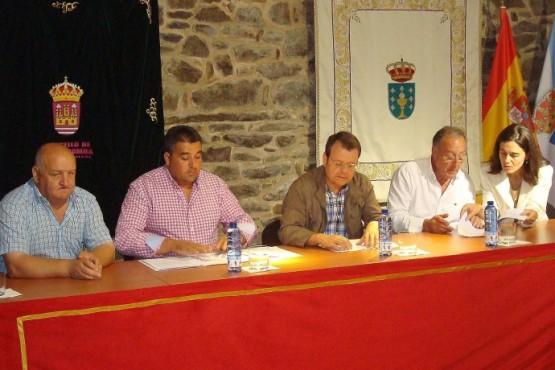 Visita do director xeral de Enerxía e Minas, Ángel Bernardo Tahoces