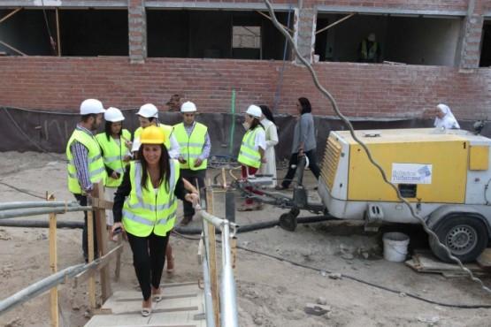A delegada territorial da Xunta en Vigo visitou as obras