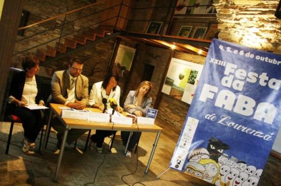 Presentación da Festa da Faba 2013