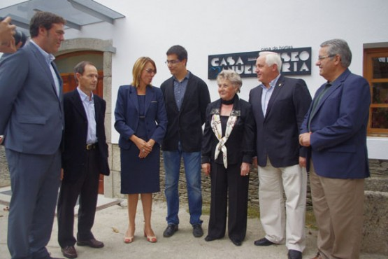 Inauguración da Casa Museo Manuel María, impulsada pola Fundación Manuel María de Estudos Galegos