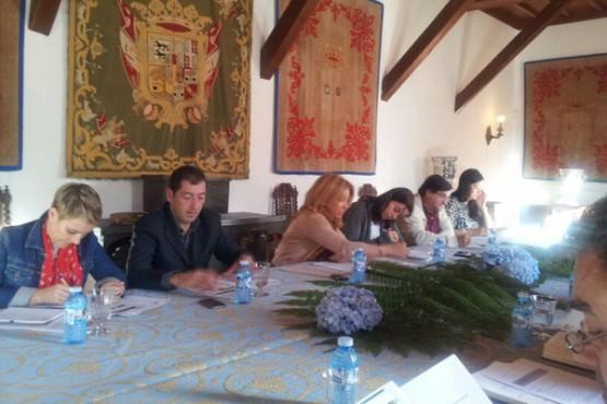 Reunión do grupo Área Santiago