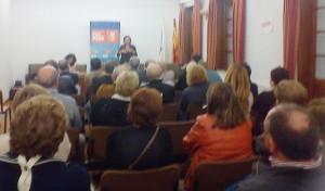 Reunión dos pensionistas de Trazo