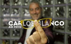 """Carlos Blanco  co seu espectáculo """"Ao vivo (de momento)"""""""