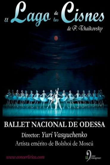 """O Ballet Nacional de Odessa representará a obra """"El Lago de los cisnes"""""""