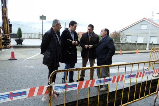 Cores Tourís na visita ás obras na rúa Solís