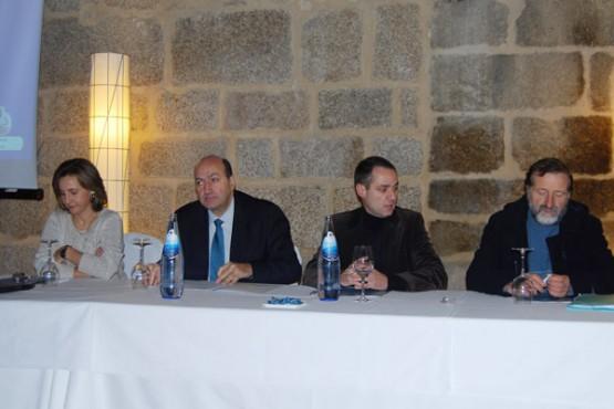 Rogelio Martínez na inauguración das xornadas