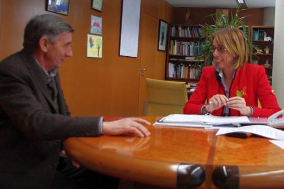 Raquel Arias e o rexedor de Cervantes