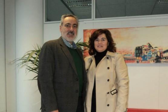 Reunión de Cores Tourís e a alcaldesa de Crecente