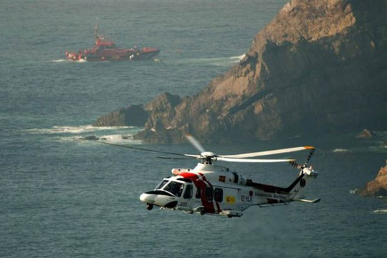 Tarefas de rescate do buque Santa Ana