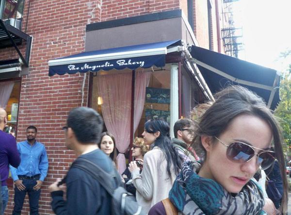 Magnolia Bakery de Sexo en NY_en Greenwich Village_