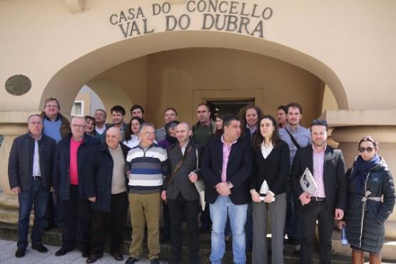 Representantes do Proxecto SOS Europa