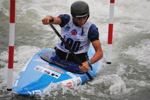 Luis Fernandez nun momento da competición