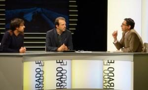 Moncho Lemos no programa da TVG Fondos Reservados