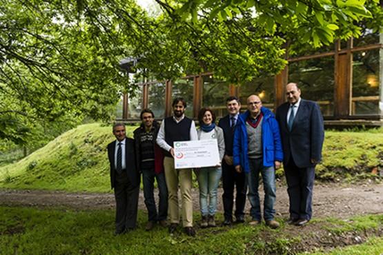 As Corcerizas recibe 30.000 euros polo segundo galardón mundial