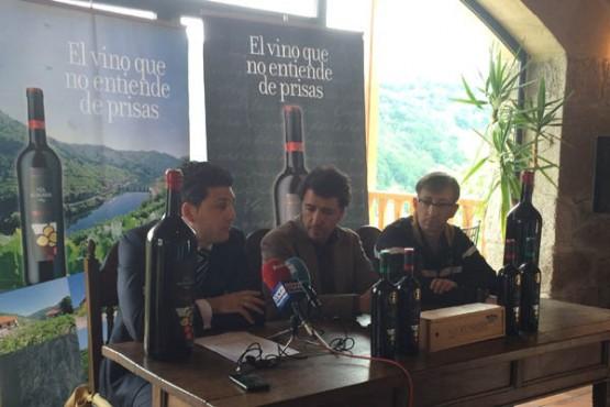 Presentación do viño Obradoiro