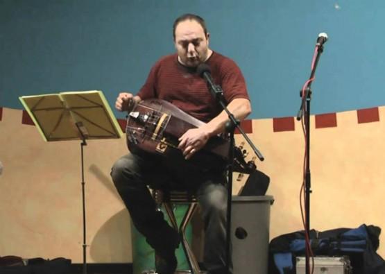 Carlos do Viso nunha actuación