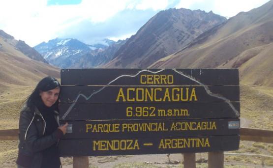 Carmen no Parque Provincial Aconcagua