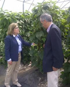 Patricia Ulloa visitou as instalacións da Comunidade Terapéutica de Cernadas