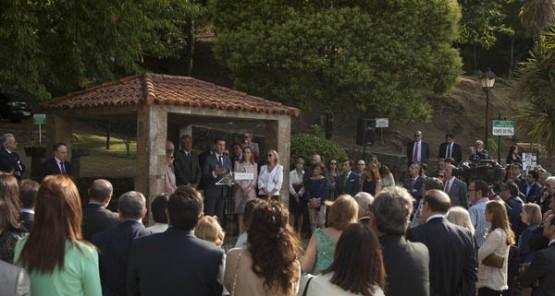 Homenaxe a Enrique Beotas en Mondariz Balneario