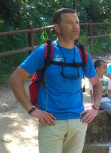Jorge Abal (Club Xesteiras), membro da organización da BTTinto