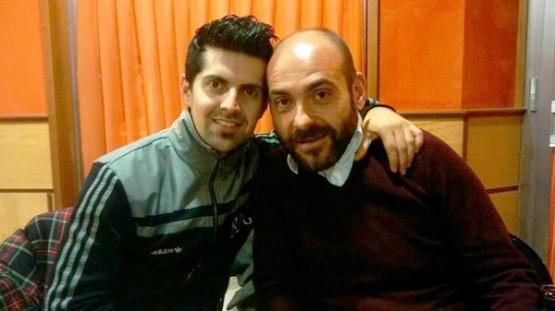 Fede Pérez co tamén actor, Santi Romay