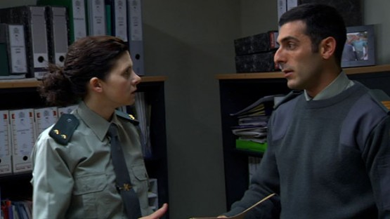 Isabel Naveira como a Tenente Seijas, en Matalobos