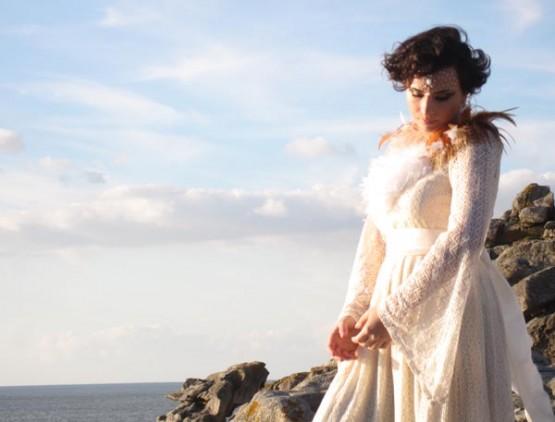 Nastasia Zürcher . Videoclip 'Voar'. Foto de Teresa Pece