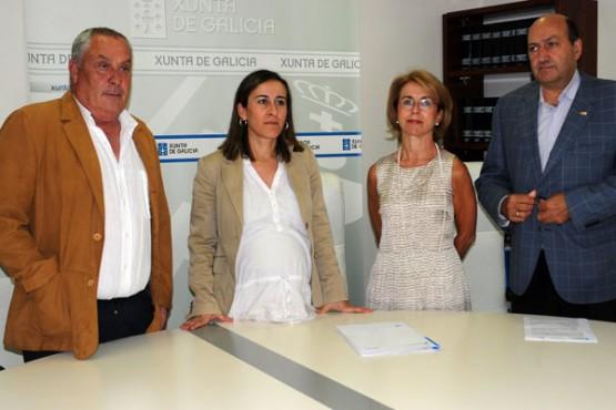 A conselleira de Medio Ambiente asina a aprobación do PXOM de Petín