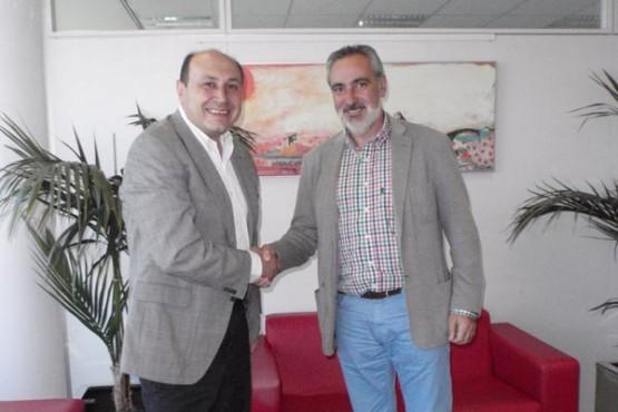 Cores Tourís na reunión co novo alcalde de Arbo
