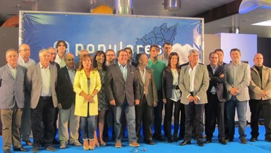 Candidatos á alcaldía polo PP nos concellos da area de Santiago