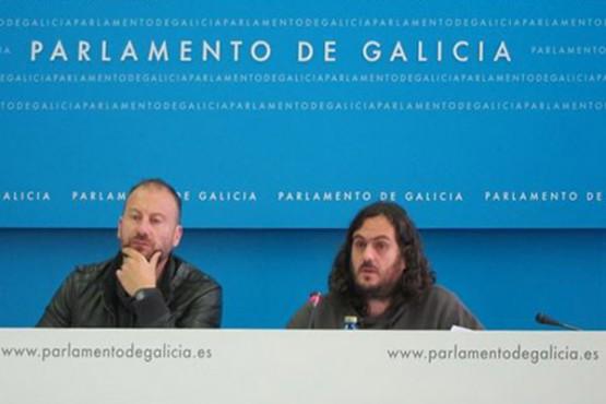 Rolda de prensa de Antón Sánchez e Ramón Vázquez