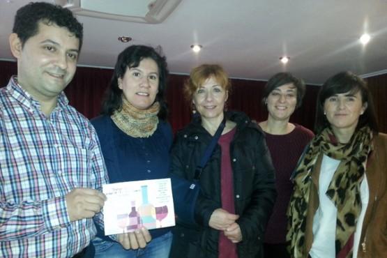 Entrega do premio a Sergio González