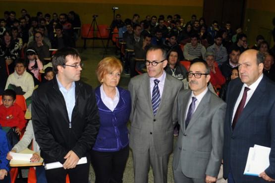 Vázquez Abad na presentación da aplicación