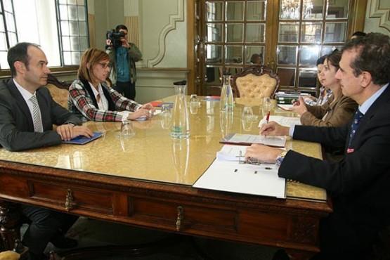 Reunión entre Xunta e Deputación