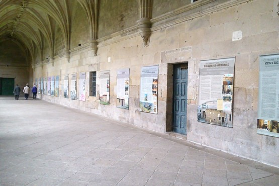 Mostra sobre mosteiros da provincia de Ourense