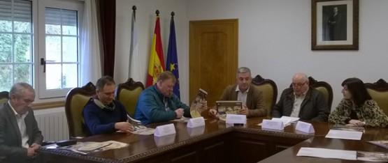 Valentín García acompañou aos catro rexedores dos concellos de Melide, Toques, Santiso e Palas de Rei