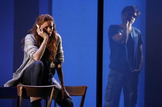 María Castro nunha escea da representación