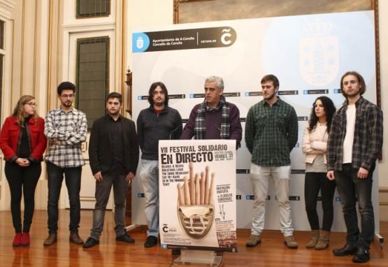 O concerto solidario 'En Directo' contará coa participación de seis grupos dos Locais de Ensaio