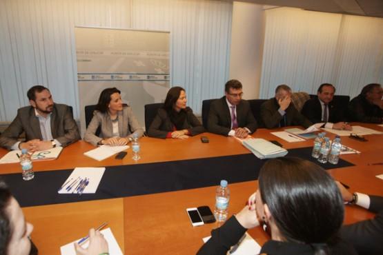 Reunión do Plan de Transporte Metropolitano de Vigo