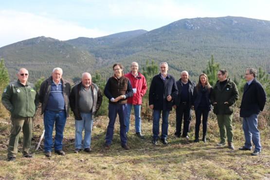 Cores Tourís na visita aos montes de Cuntis e Campo Lameiro