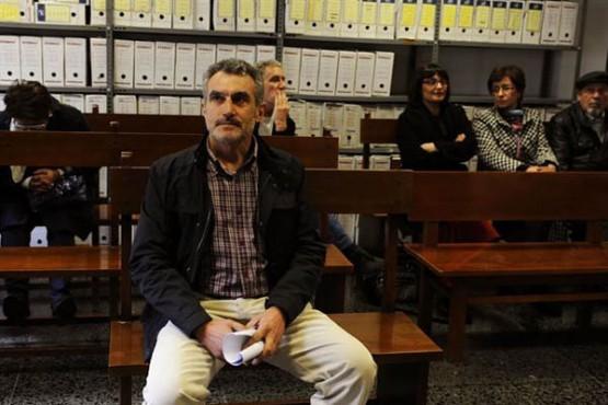 O alcalde de Rairiz de Veiga no xuízo. Foto: R. Veiga