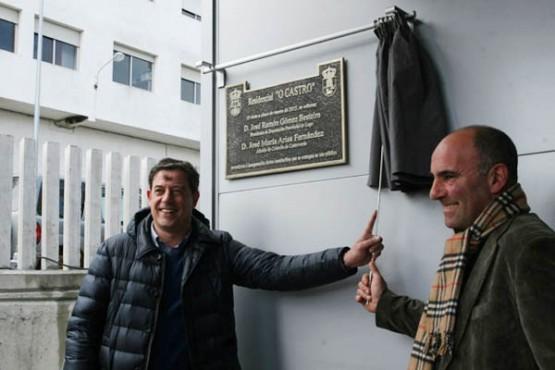 Inauguración da residencia de Castroverde