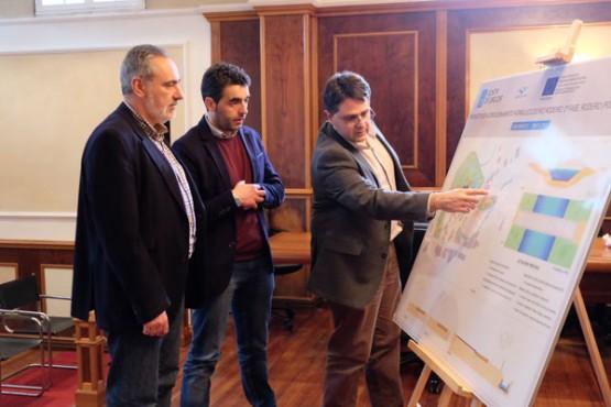 O director de Augas de Galicia en Rodeiro