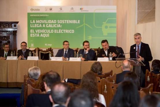 Francisco Conde na xornada sobre mobilidade sustentable. Foto: X. Crespo