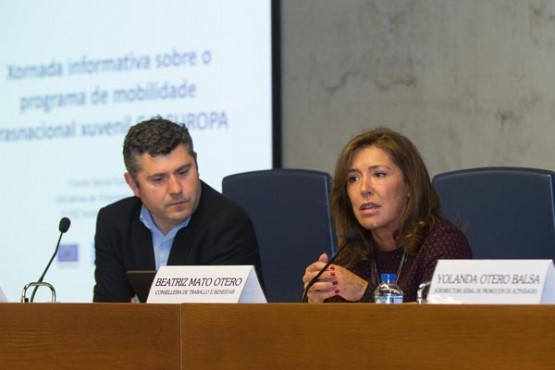 O programa Galeuropa permitirá a 3.000 mozos realizar prácticas no estranxeiro ata 2020